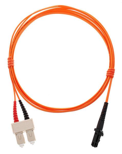 pro snake LWL Cable SC-MTRJ Duplex 2m