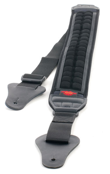 Air Cell Guitar Strap BK