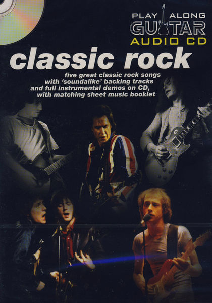 Wise Publications Play-Along Guitar Classic Rock