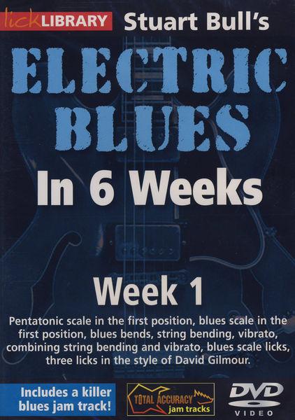 Music Sales Electric Blues Week 1