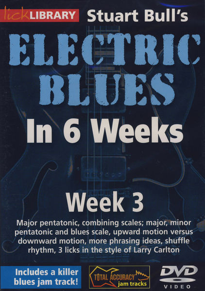 Music Sales Electric Blues Week 3