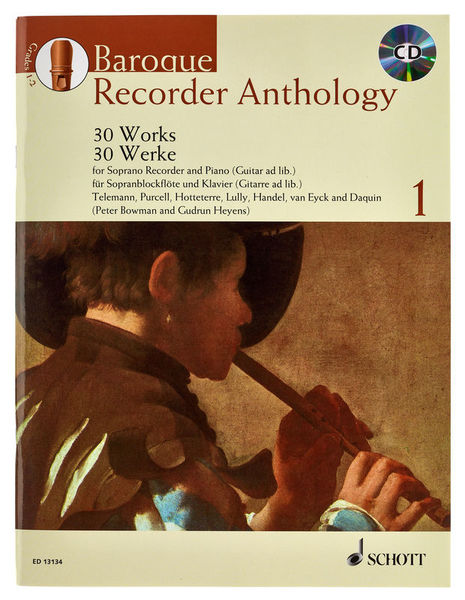 Schott Baroque Recorder Anthology 1