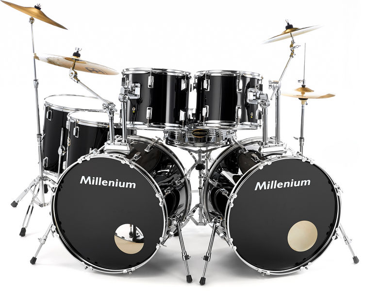 Millenium MX222 Double Bass Drumset Rock