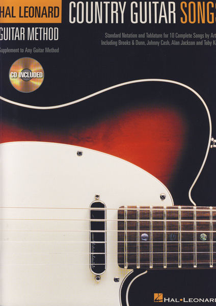 Hal Leonard Country Guitar Songs