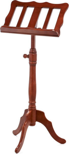 K&M 117 Wooden Music Stand Walnut