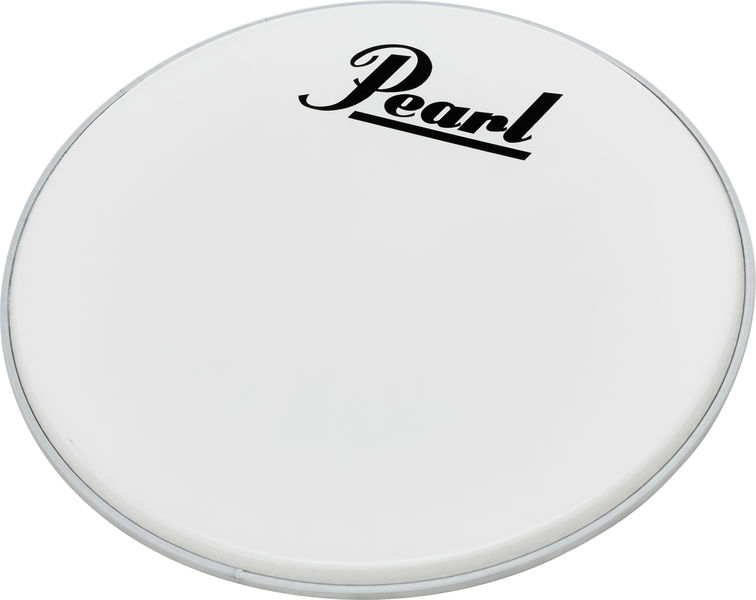 "Pearl 20"" Bass Drum Front Head White"