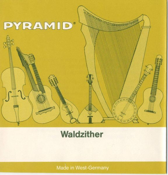 Pyramid Hamburger Waldzither Strings