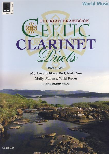 Universal Edition Celtic Clarinet Duets