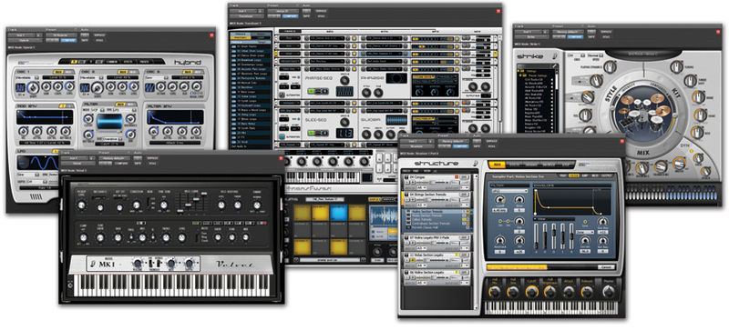 Avid Instrument Expansion Pack V1