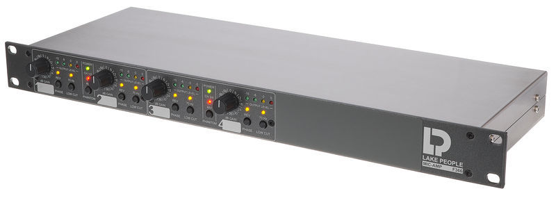Lake People Mic-Amp F366D 4-Channel Preamp