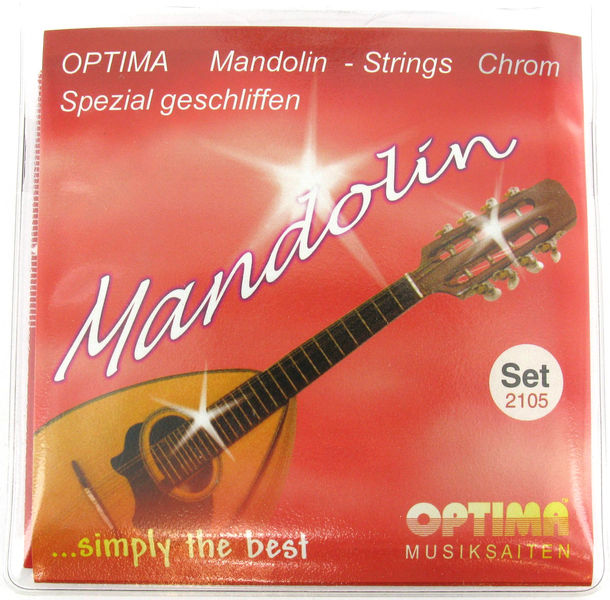Optima Mandolin Strings Chrome-Nickel