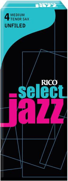 D'Addario Woodwinds 4M Select Jazz Unfiled Tenor