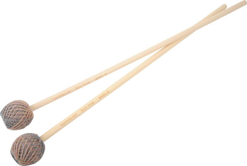 Marimba One Wave Wrap Mallets Rattan