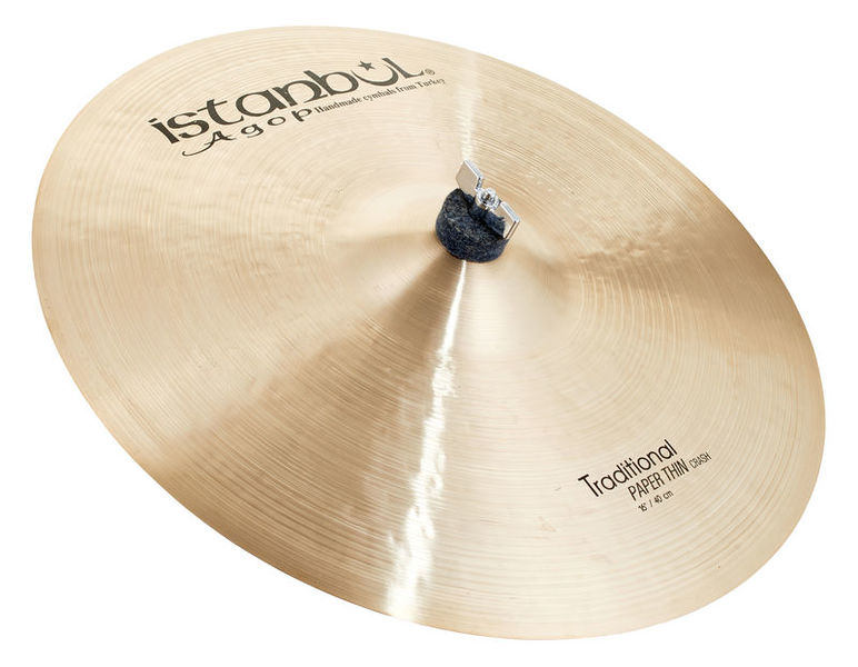 Istanbul Agop Traditional Pap.Thin Crash 16""