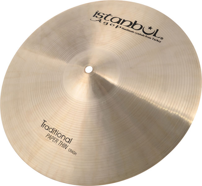 """Istanbul Agop Traditional Pap.Thin Crash 15"""""""