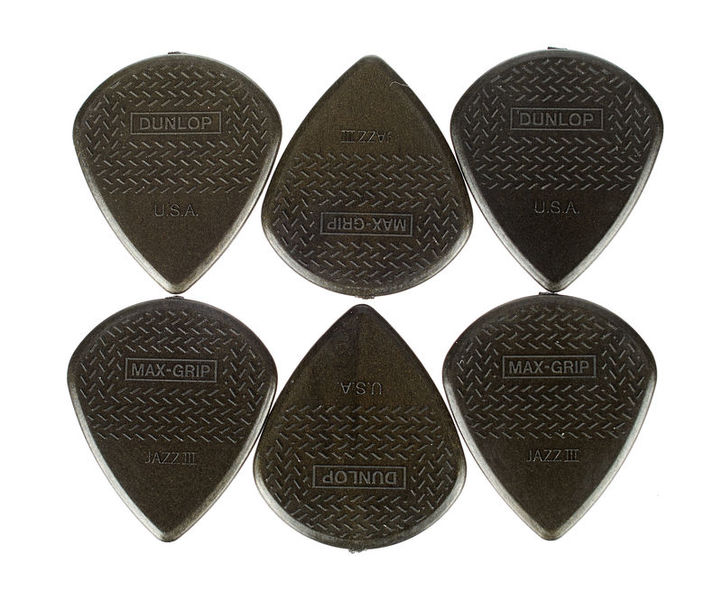 Dunlop Nylon Max Grip Jazz III Carbon