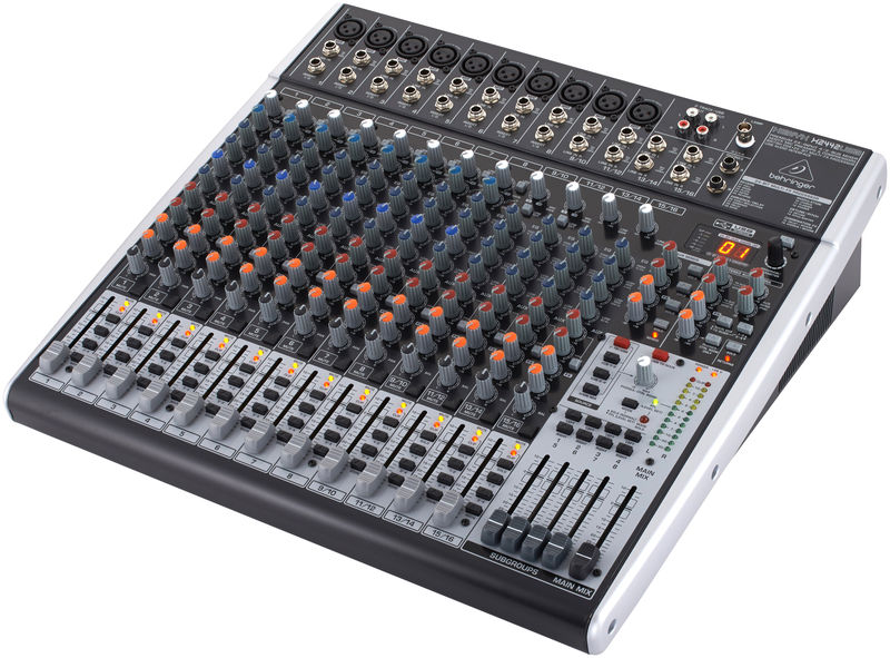 Behringer xenyx x2442 usb thomann france for Table de mixage xpress 6 keywood
