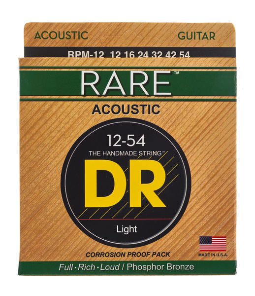 DR Strings Rare Acoustic Medium RPM-12
