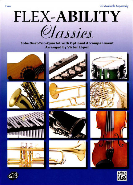 Alfred Music Publishing Flex-Ability Classics Flute