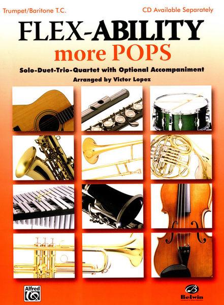 Alfred Music Publishing Flex-Ability More Pops Trumpet