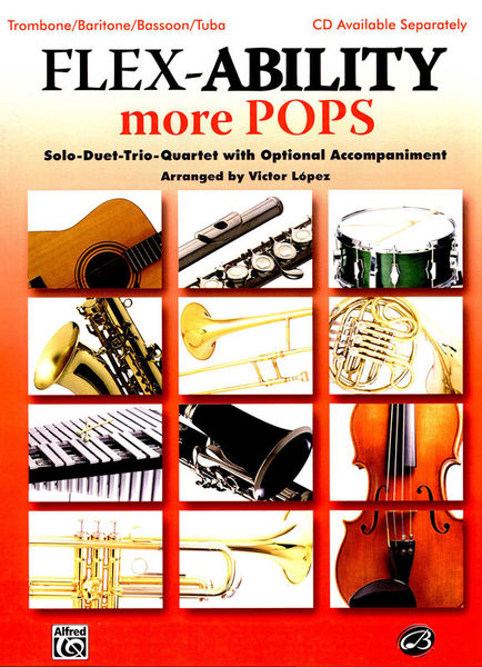 Alfred Music Publishing Flex-Ability More Pops Tromb.