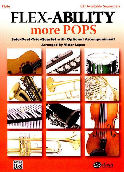 Alfred Music Publishing Flex-Ability More Pops Flute