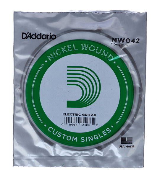 Daddario NW042 Single String
