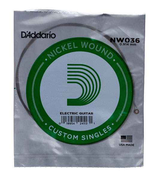 Daddario NW036 Single String