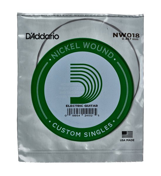 Daddario NW018 Single String