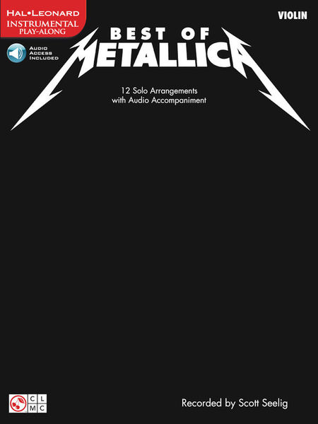 Hal Leonard Best of Metallica Violin