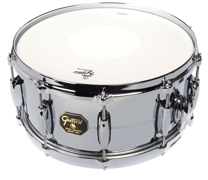 "Gretsch 14""x6,5"" Snare Chrome o. Brass"