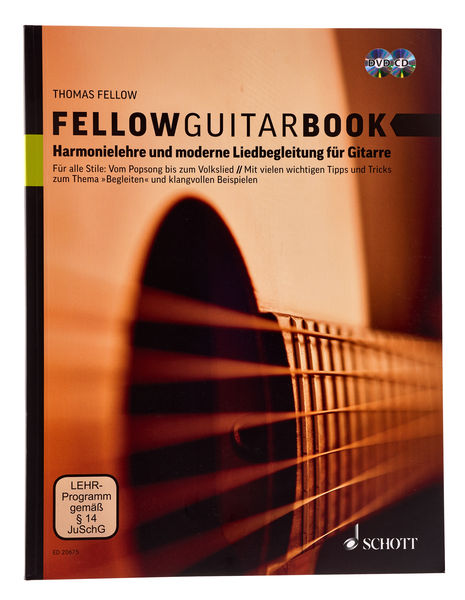 Fellow Guitarbook Schott