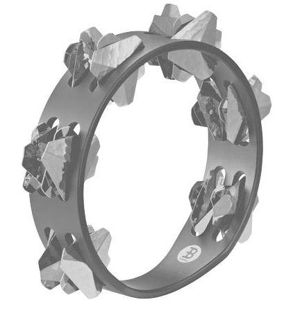 Meinl CSTA2S-BK Compact Tambourine