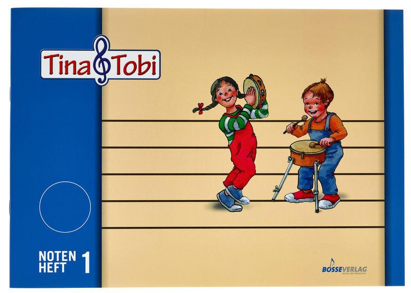 Bosse Verlag Tina & Tobi Notenheft 1 A4