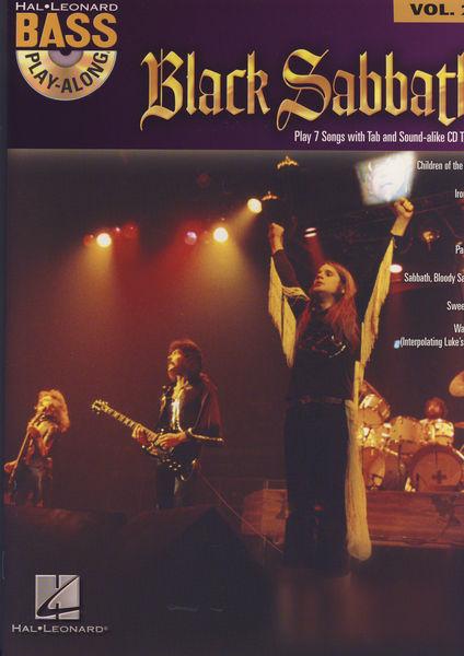 Hal Leonard Black Sabbath Bass Play-Along