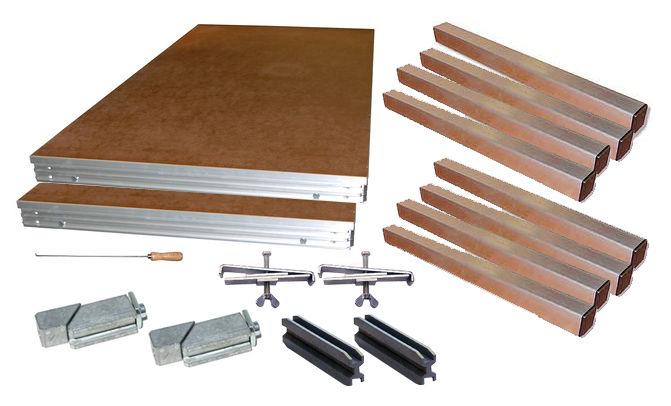 Millenium Drumriser 2,0 x 2,0m Bundle