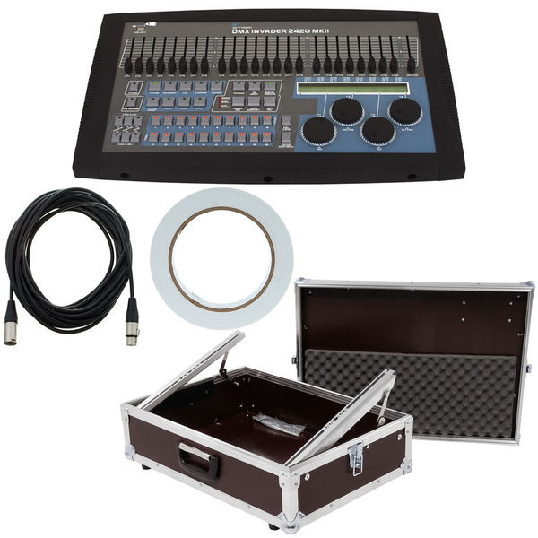 Stairville DMX Invader MK2 Tour Bundle