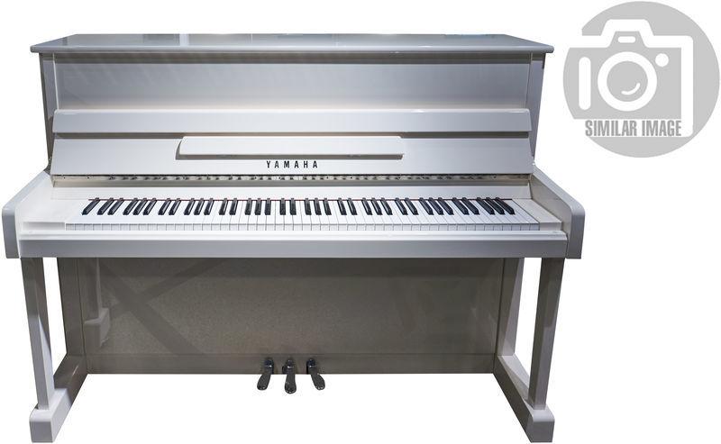 Yamaha P 116 M PWH Upright Piano