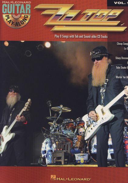 Hal Leonard ZZ Top Play-Along Vol.99