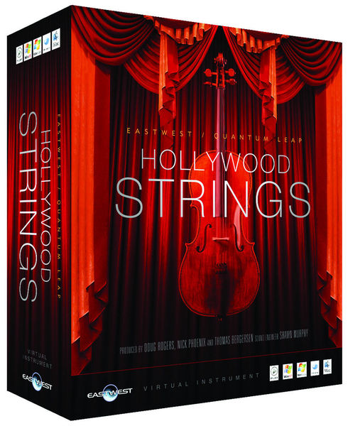 EastWest QL Hollywood Strings Diamond M