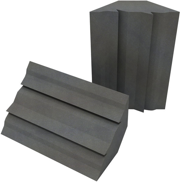 EQ Acoustics Project Corner Traps grey