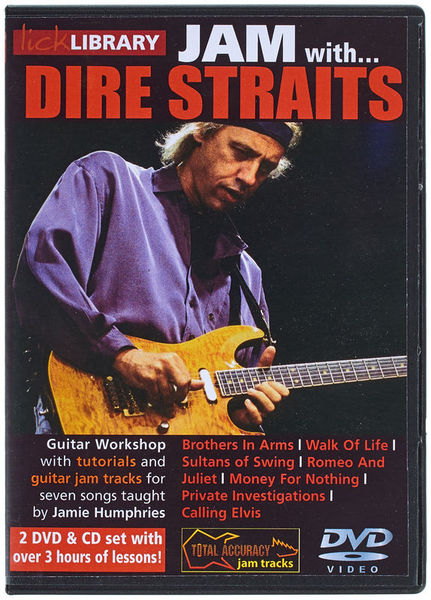 Hal Leonard Lick Library Jam Dire Straits