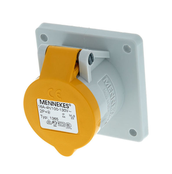 Mennekes Housing 110V 16A Yellow