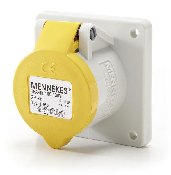 Mennekes Housing 110V 16A Yellow