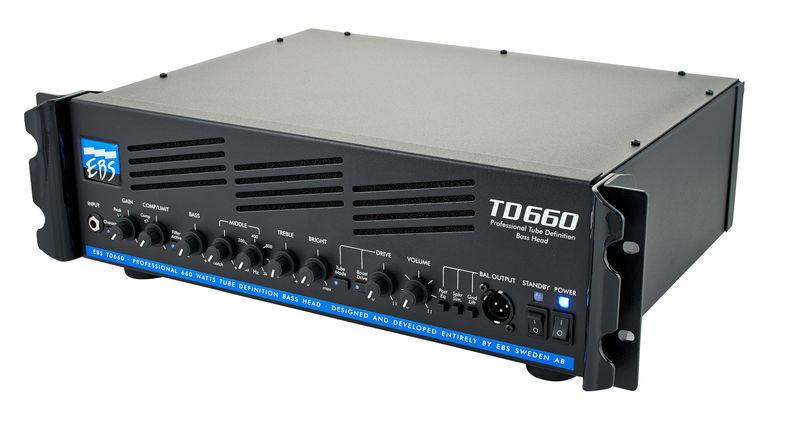 EBS TD660 Bass Amp Head