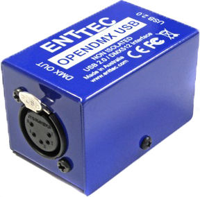 Enttec Open DMX USB Interface