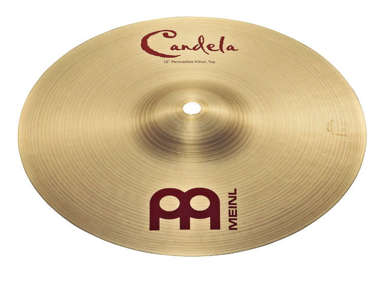 "Meinl 10"" Candela Percussion Hi-Hat"