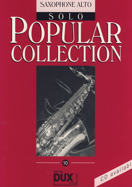 Edition Dux Popular Collection 10 A-Sax
