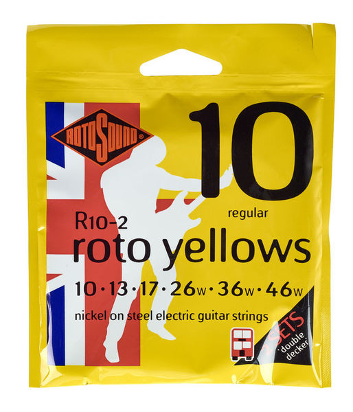 Rotosound R10 Rotos Double Pack