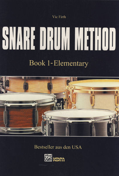 Alfred Music Publishing Snare Drum Method V.Firth